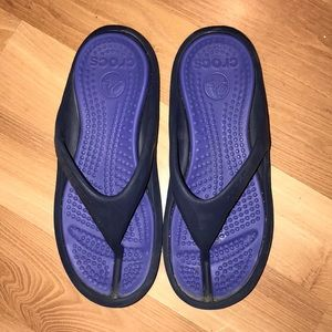 Crocs water rubber slippers size 9